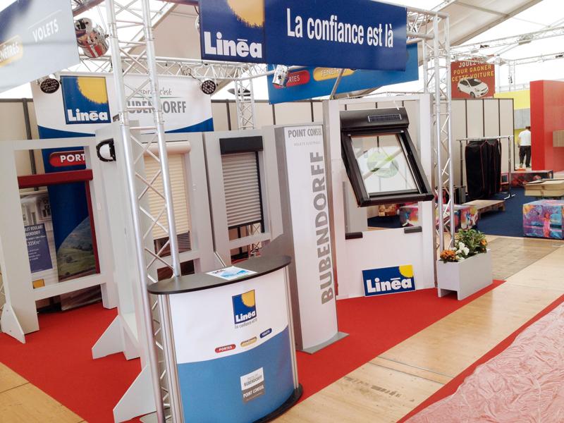 Stand Linéa Foir'Expo
