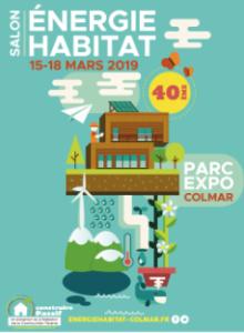 Affiche salon Energie Habitat