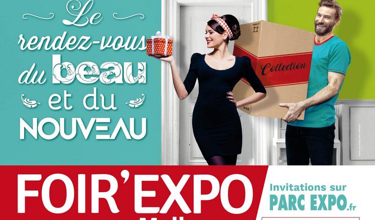 Linéa sera présent à la Foir'Expo de Mulhouse du 10 au 19 mai 2019