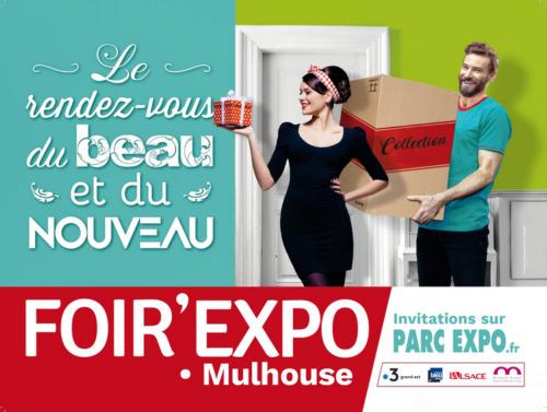 Affiche Foir'Expo Mulhouse