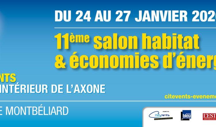 11ème édition du salon de l'Habitat et de l'Économie d'énergie à Montbéliard.