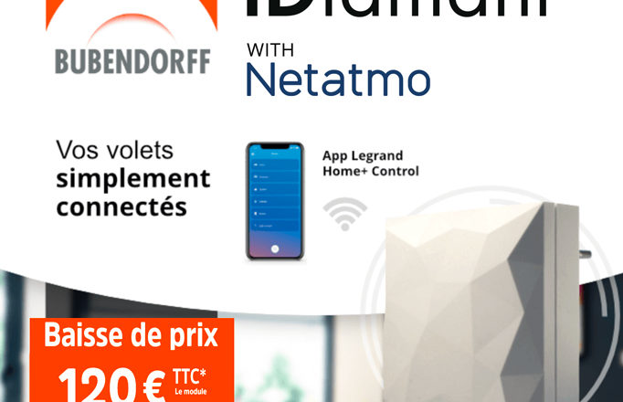 iDiamant with Netatmo pour seulement 120€TTC.