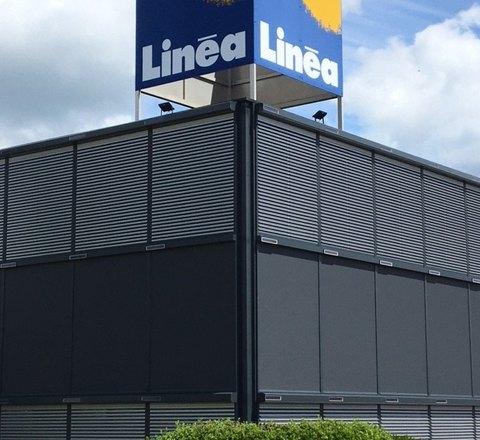 SHOW-ROOM  LINEA MULHOUSE : une nouvelle façade pour l'été.